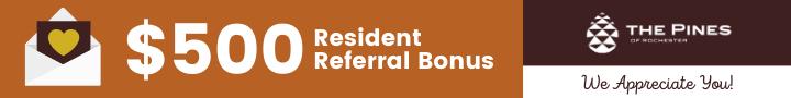$500 resident referral